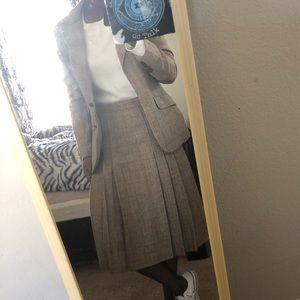 Evan Picone Skirts - Vintage pleated skirt suit